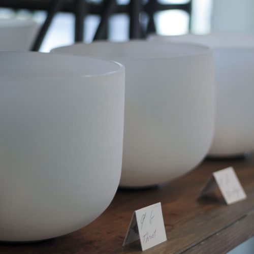 Crystal Singing Bowls By Size