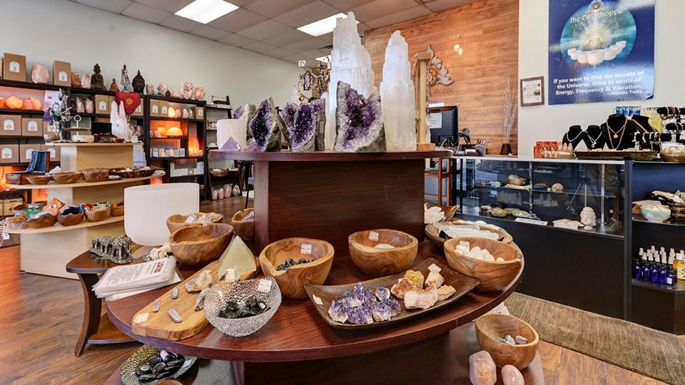 The Om Shope & Spa in Sarasota Florida store