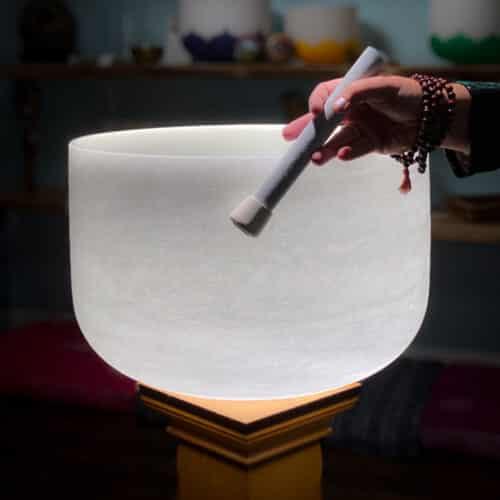 Quartz Crystal Singing Bowl The OM Shoppe