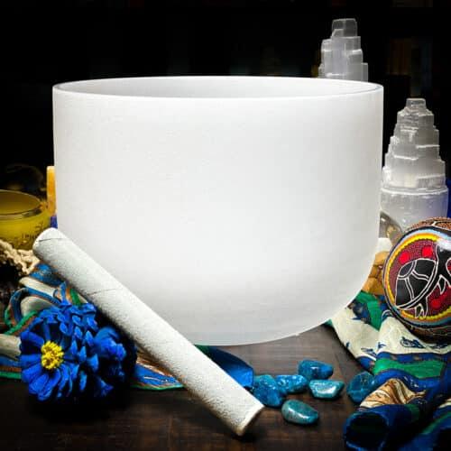 Note G# | Zeal Chakra Crystal Singing Bowls