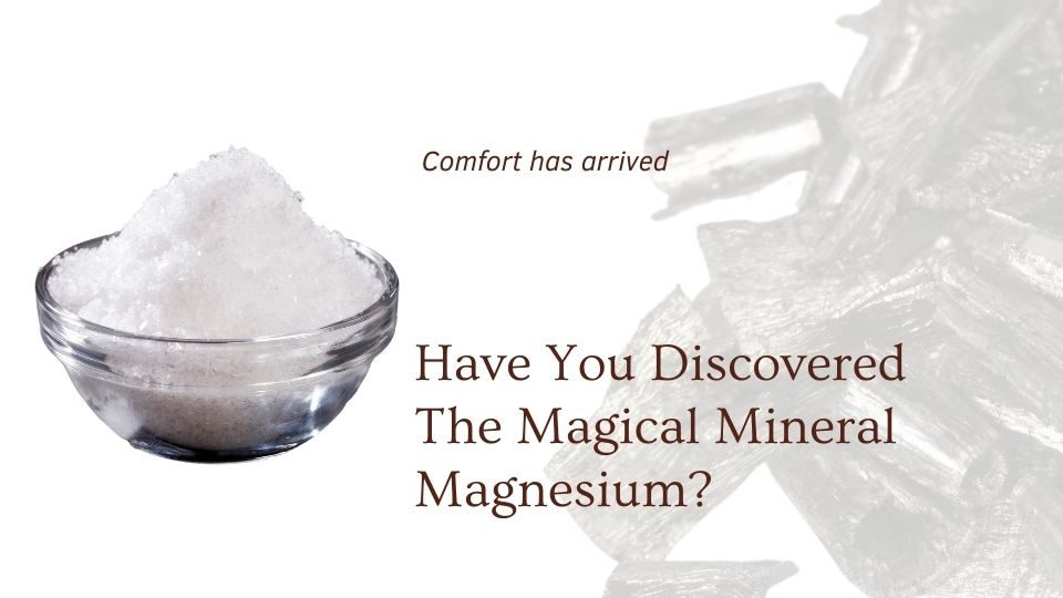 Premium magnesium and skin care products at the om shoppe and spa by c & g naturals