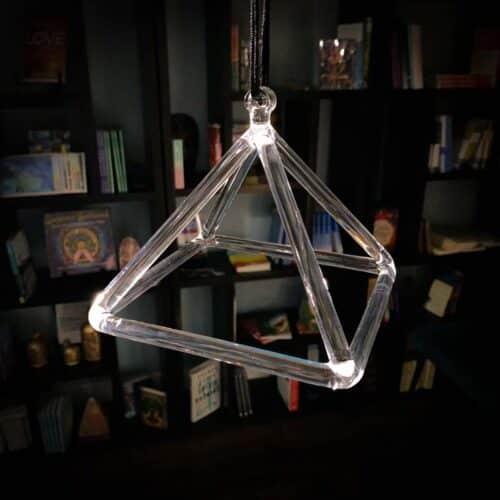 6-inch Crystal Pyramid