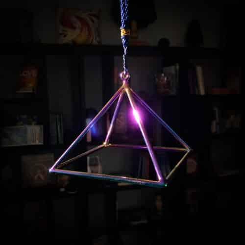 titanium pyramid 5 inch