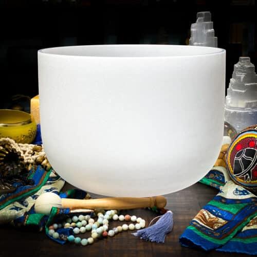 A# | Pineal Chakra Crystal Singing Bowls
