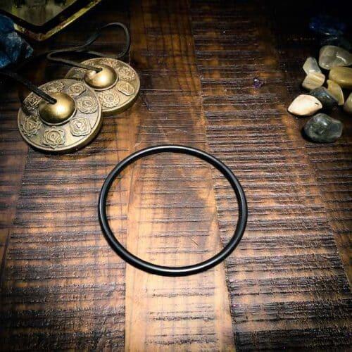 large black o-ring for crystal singing bowls