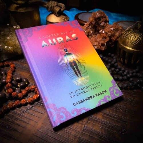 A little bit of Auras book, sideview