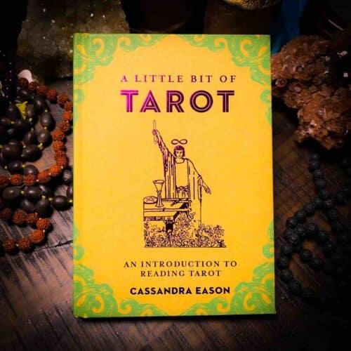 A Little Bit of Tarot book front view