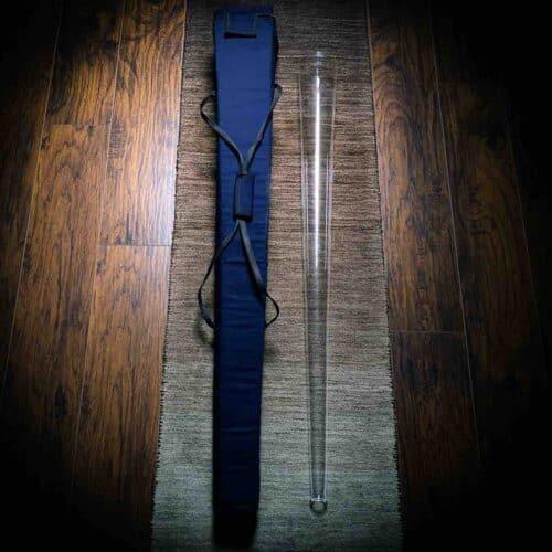 Crystal Didgeridoo with case
