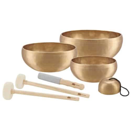 The MEINL Singing Bowls: Singing Bowls Set - COSMOS SERIES (4 bowl set, 3.7 - 10.3 inch)