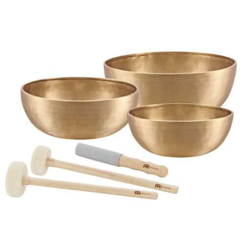 The MEINL Singing Bowls: Singing Bowls Set - ENERGY SERIES (3 bowl set, 9 - 11.4 inch)