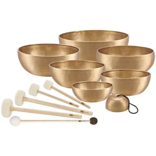 The MEINL Singing Bowls: Singing Bowls Chakra Set
