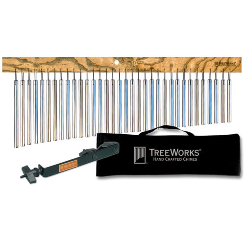 TreeWorks Chimes - Nashville Percussion Kit: Classic Chime, Soft Bag and Chime Mounting Clamp