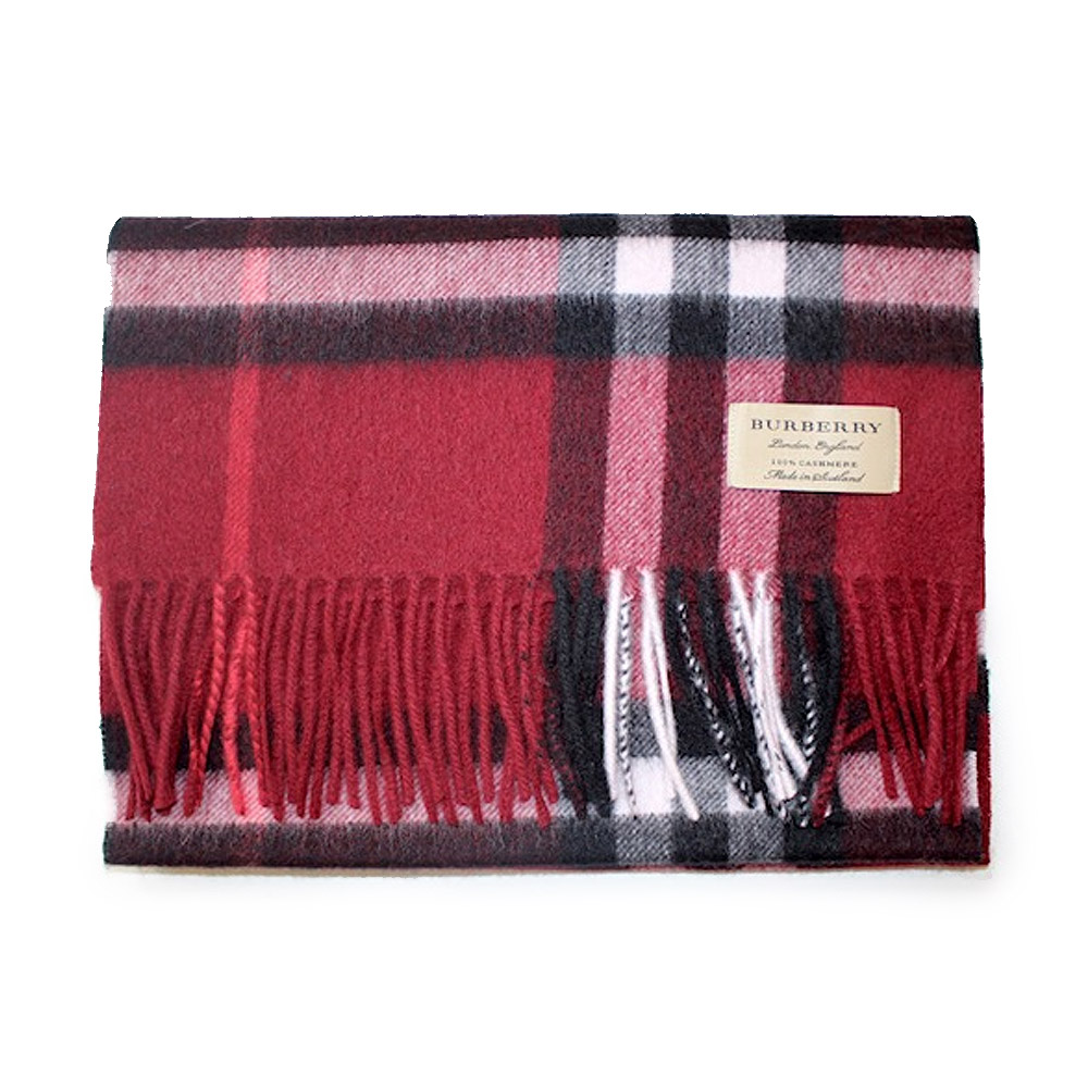 eab099d16f5e5 Cashmere Shawl Red | John Hanly Dark Gray Red Green And Beige ...