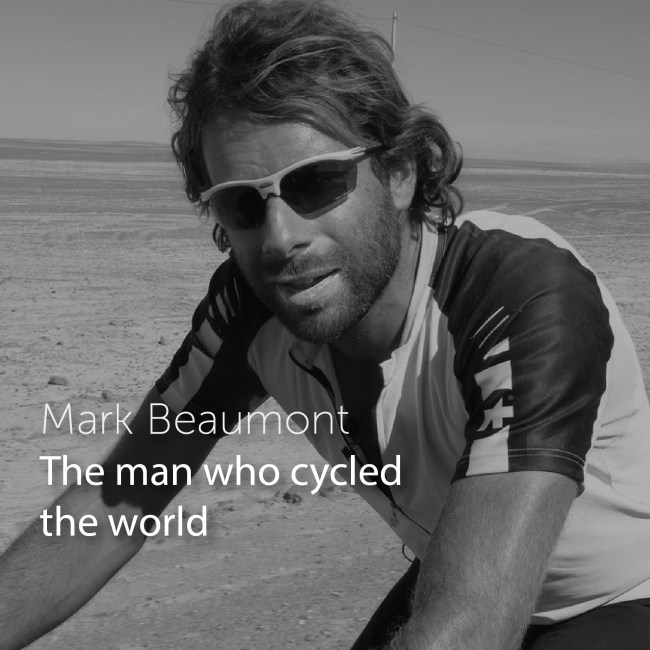 Mark Beaumont the 1% podcast