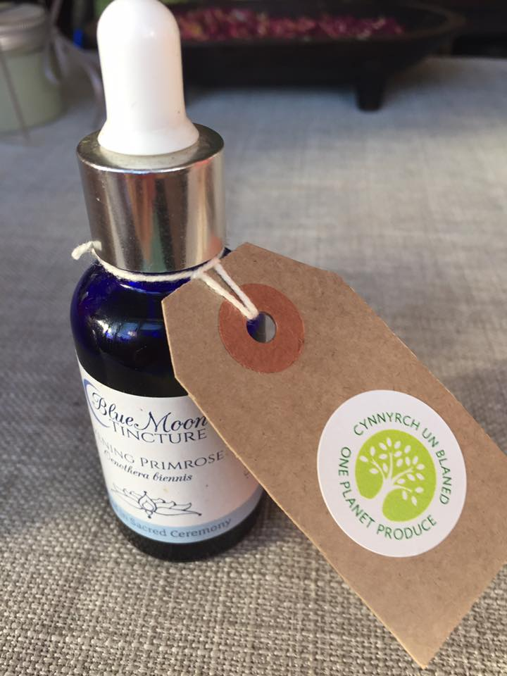 tincture with one planet produce label
