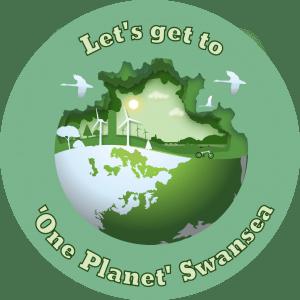 One Planet Swansea logo