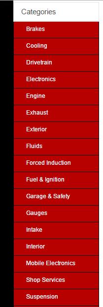button sidebar