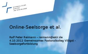 Online-Seelsorge