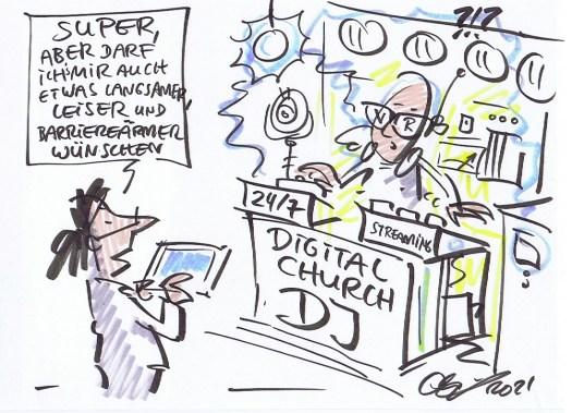 Digital Church DJ (© Michael Hüter)