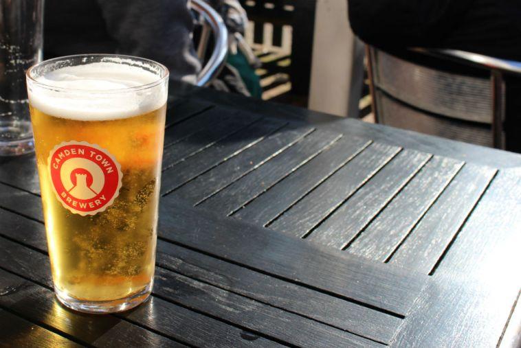 Camden Hells from Camden Town Brewery