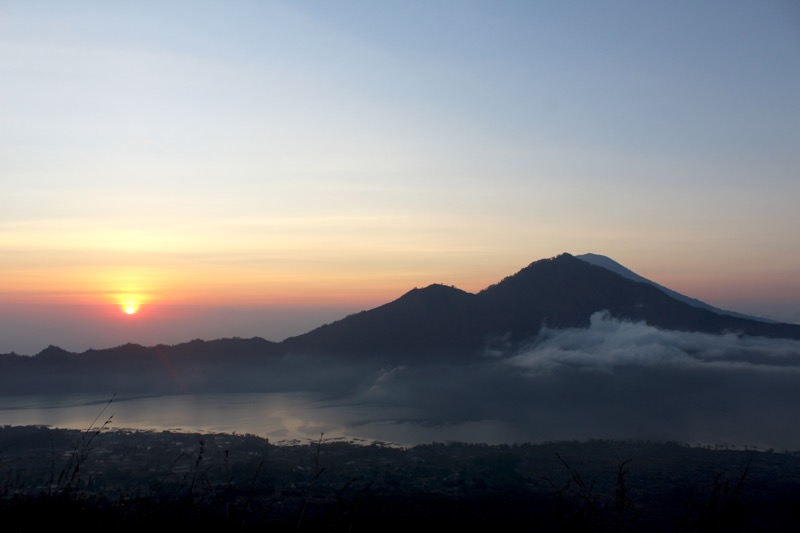 Sunrise trek Mount Batur Bali