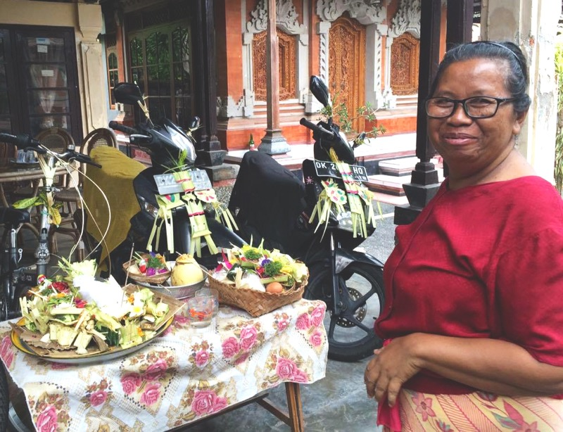 Tumpek Landep ceremony Bali The One Who Wanders