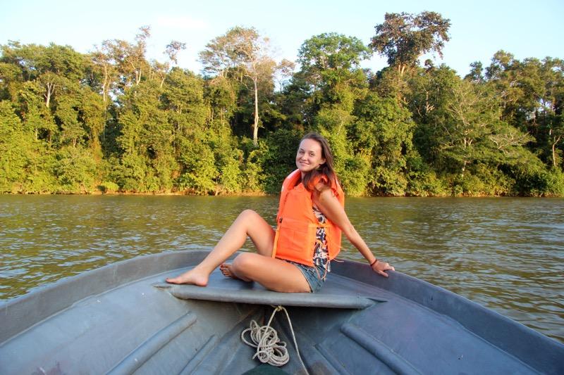 Kinabatangan river cruise
