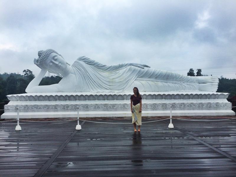 Sleeping Budha statue Pupuan Tabanan Bali