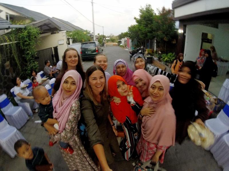Miestni ľudia v Indonézii