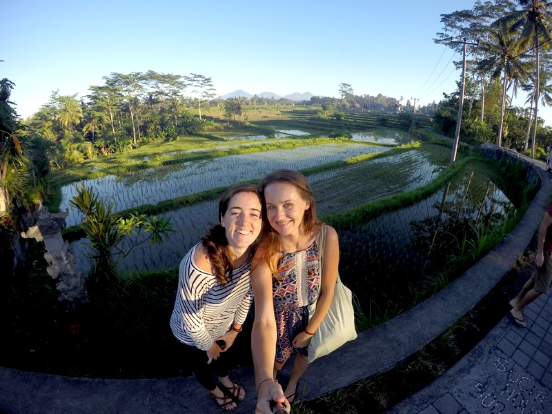 Me and Tina in Ubud