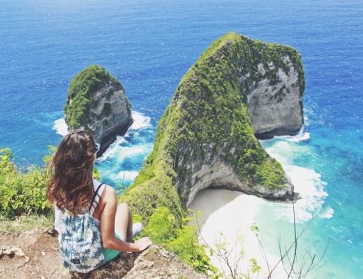 Nusa Penida je ako cestovať na Bali 30 rokov dozadu, Kelingking Beach