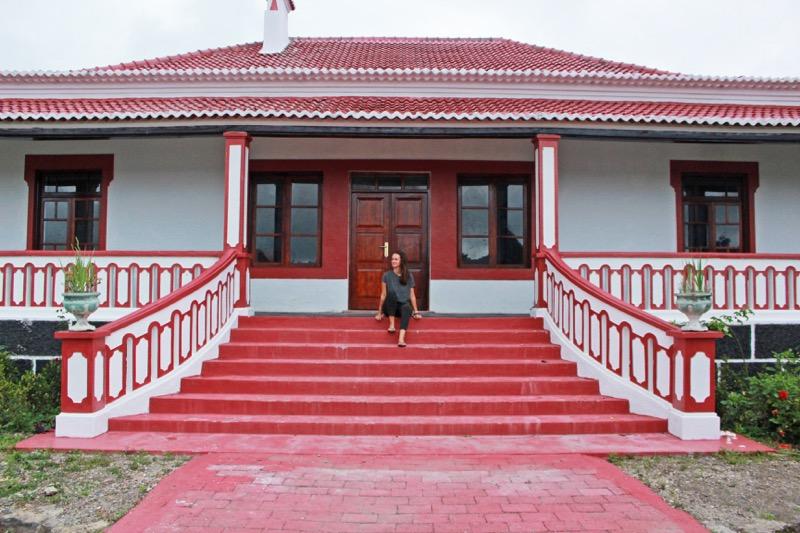 Pousada Maubisse, kedysi miesto, kam chodili oddychovať vládni úradníci.