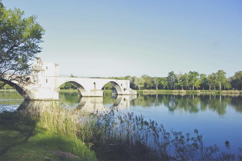Avignonský most Francúzsko
