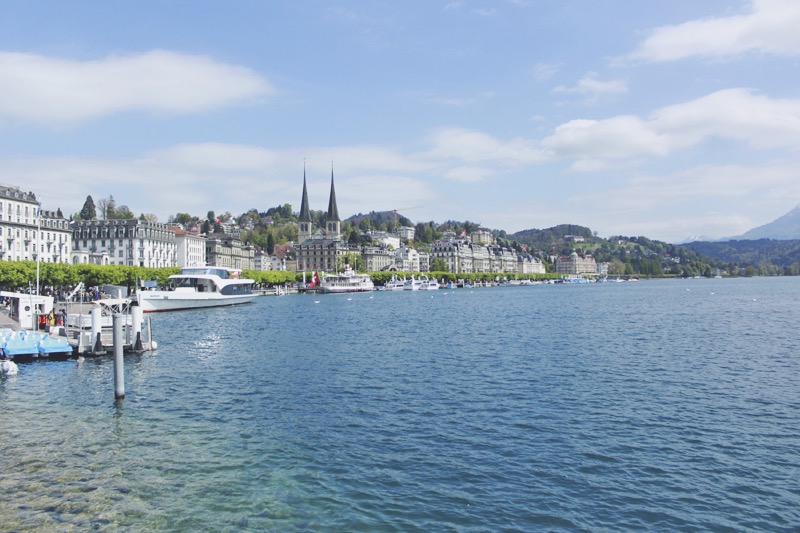 Luzern jazero Švajčiarsko