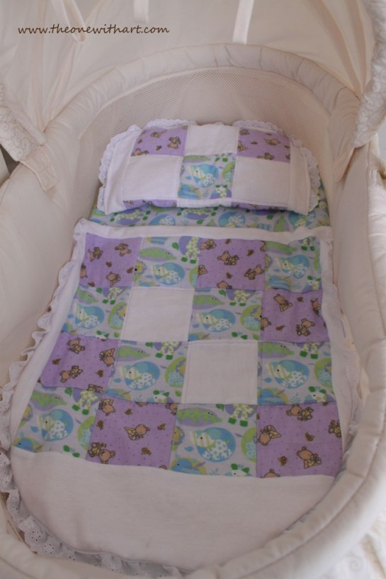 bassinet make over 9