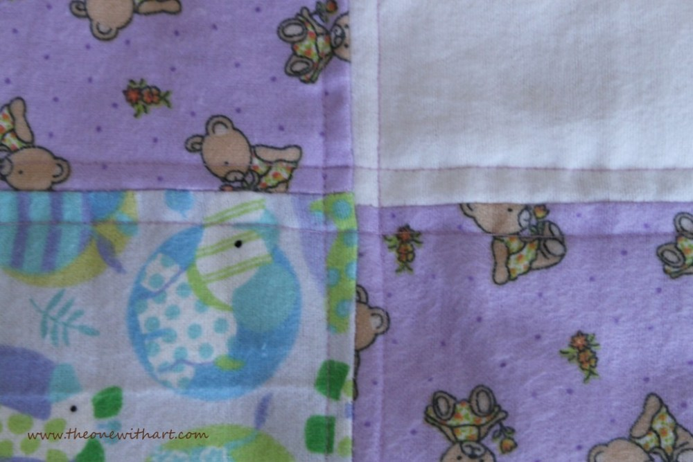 Nursery - Part 6: Baby Crib Quilt and Pillow (5/6)