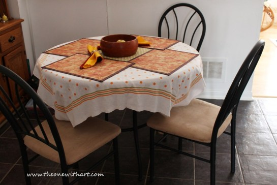 table make-over 1