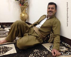Kurdish men clothes