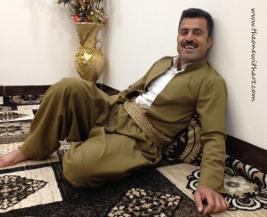 Kurdish men clothes