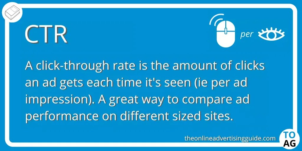 Ctr Definition Click Through Rate The Online