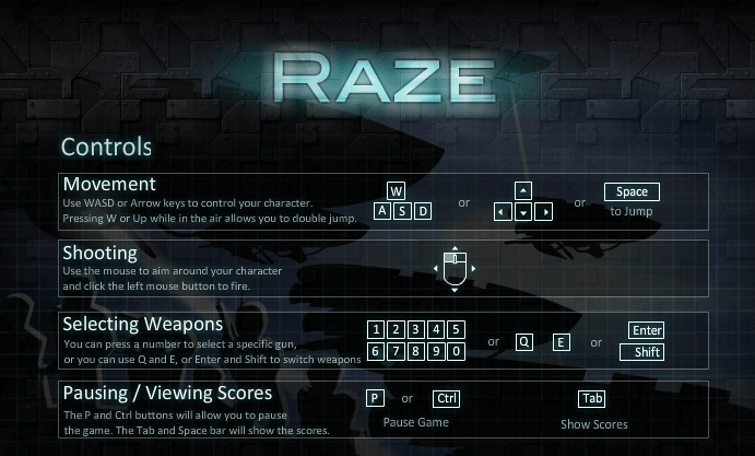 raze flash game
