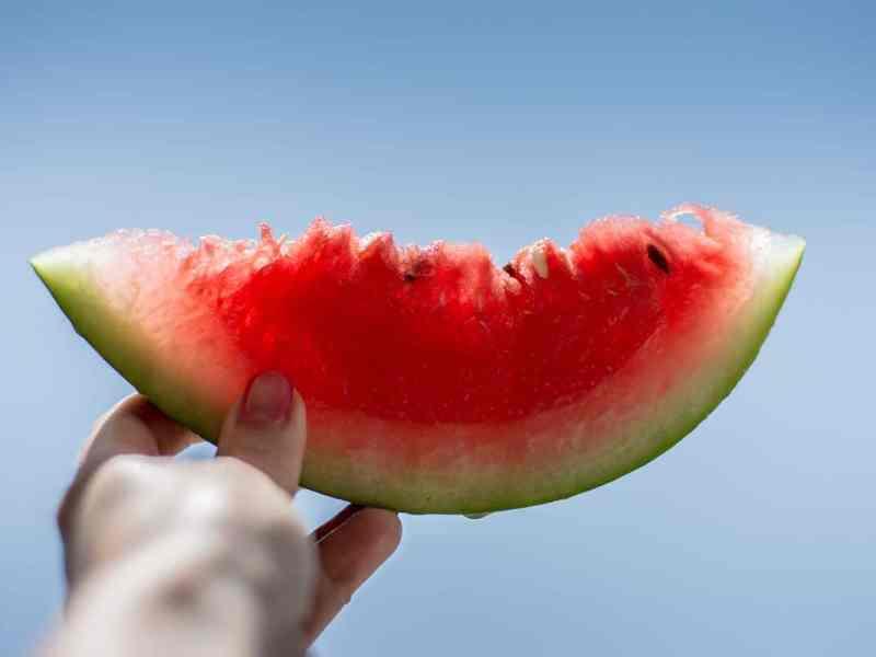 watermelon cutting hacks
