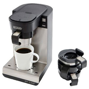 BUNN MCU Single Cup Multi Use Home Coffee Brewer