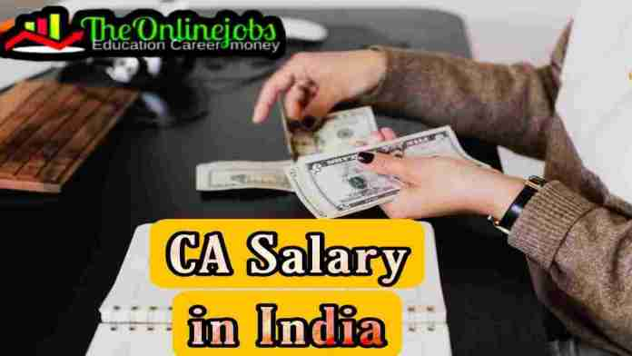 ChChartered Accountant Salary in India