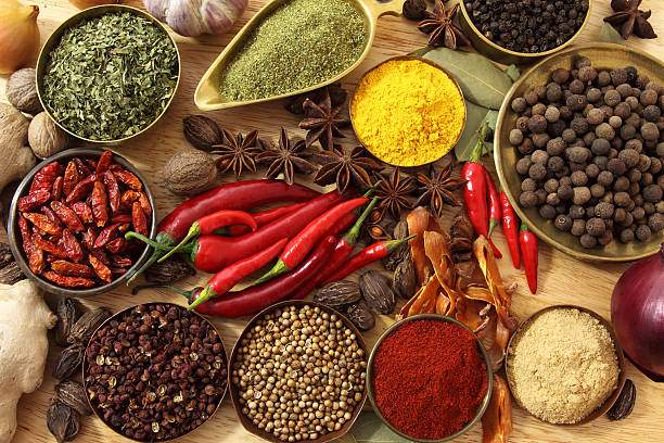 Spice powders manufacturing