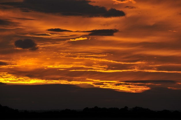Sunset over Beverley