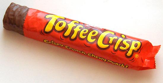 Image result for toffee crisp