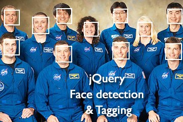 Face detection and photo tagging script with jQuery!
