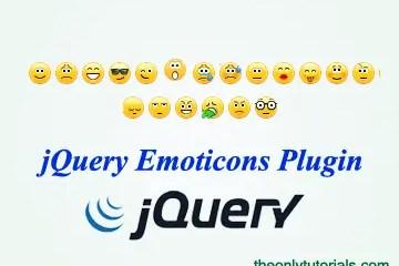 Facebook / Skype like emoticons jQuery Plugin