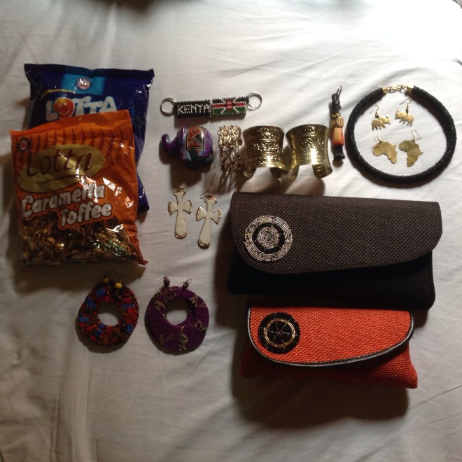 Items I bought at the market